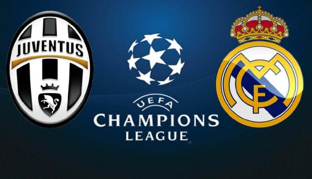 Foto Juventus vs Real Madrid